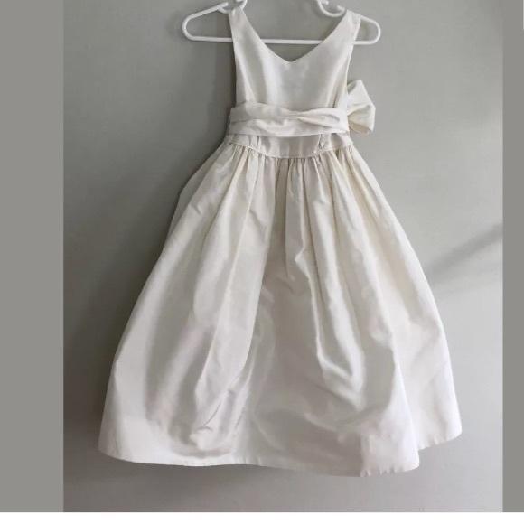 76949fd50 Crewcuts Dresses | Silk Flower Girl Dress Off White Size 3 | Poshmark